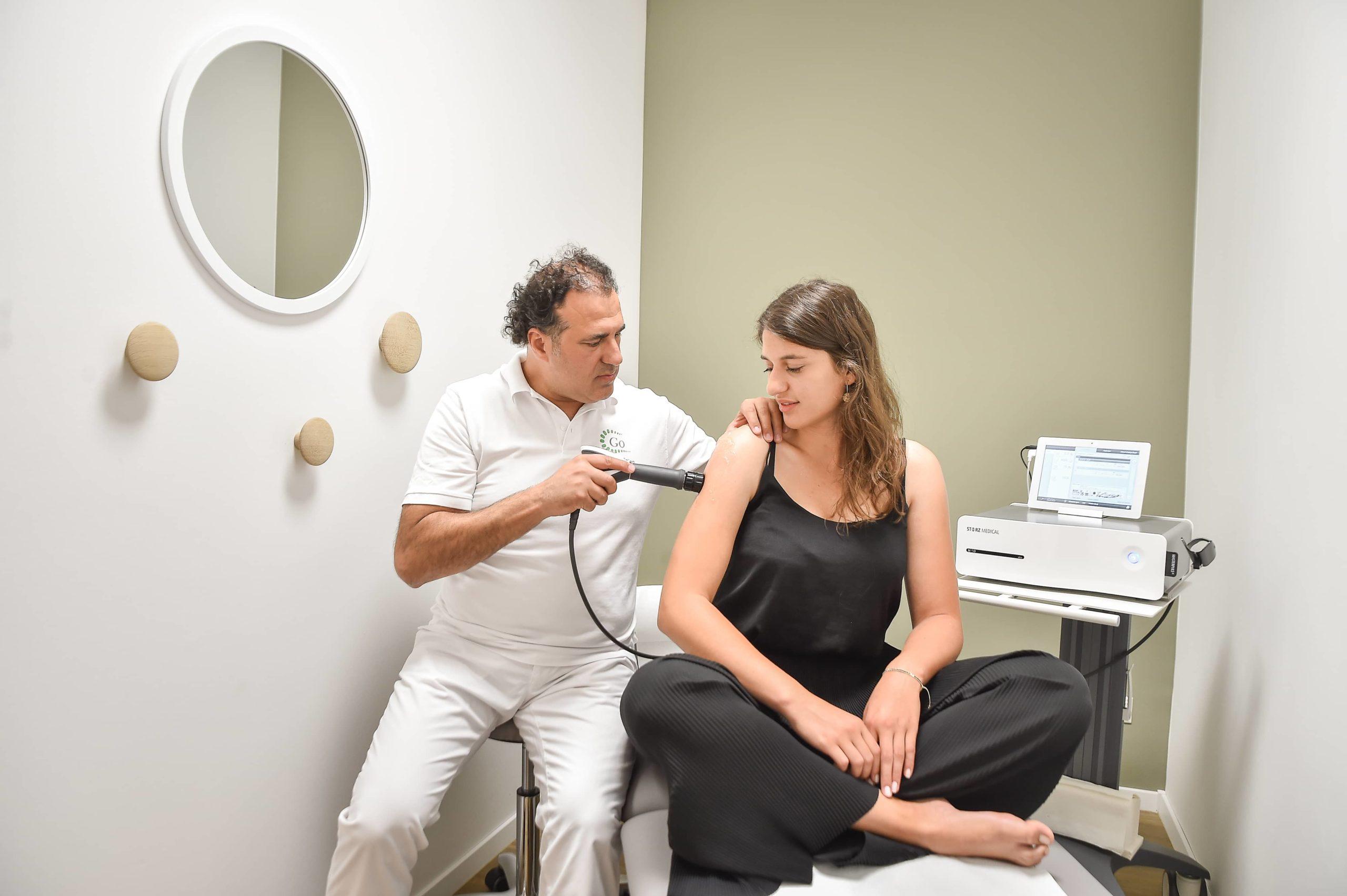 Leistungen Therapiebild Gerber Orthopädie Praxis