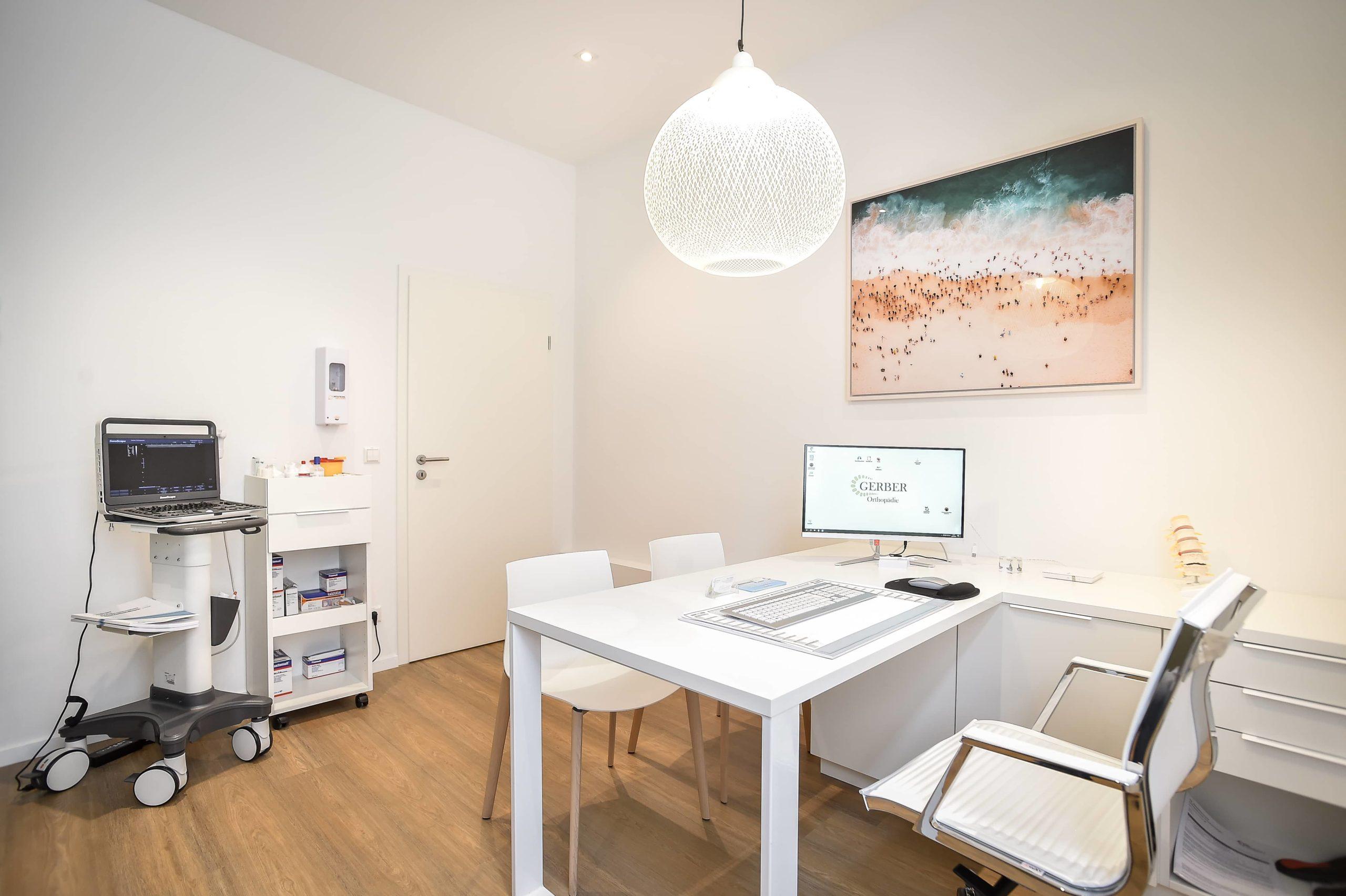 Büro Gerber Orthopädie Praxis