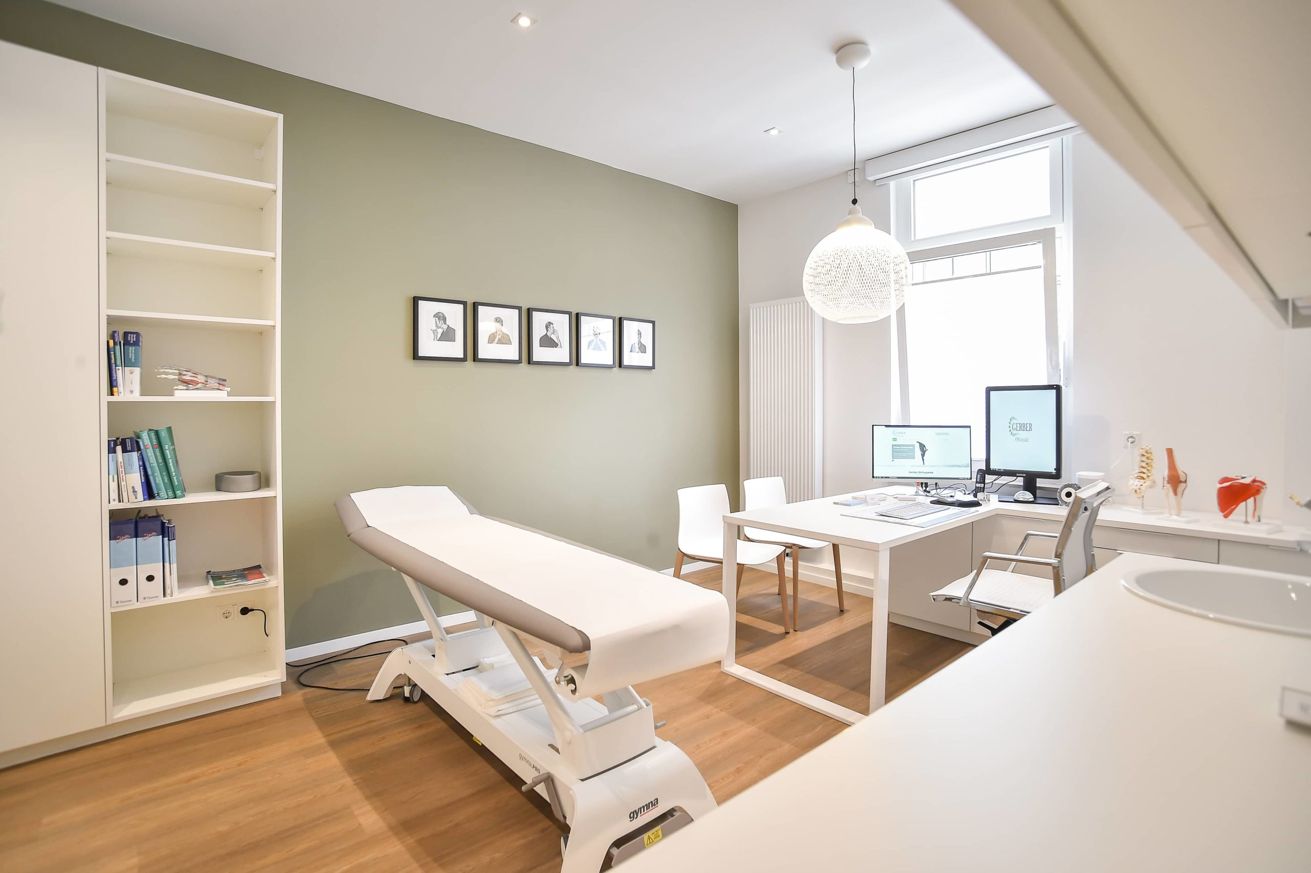 Behandlungsraum Gerber Orthopädie Praxis