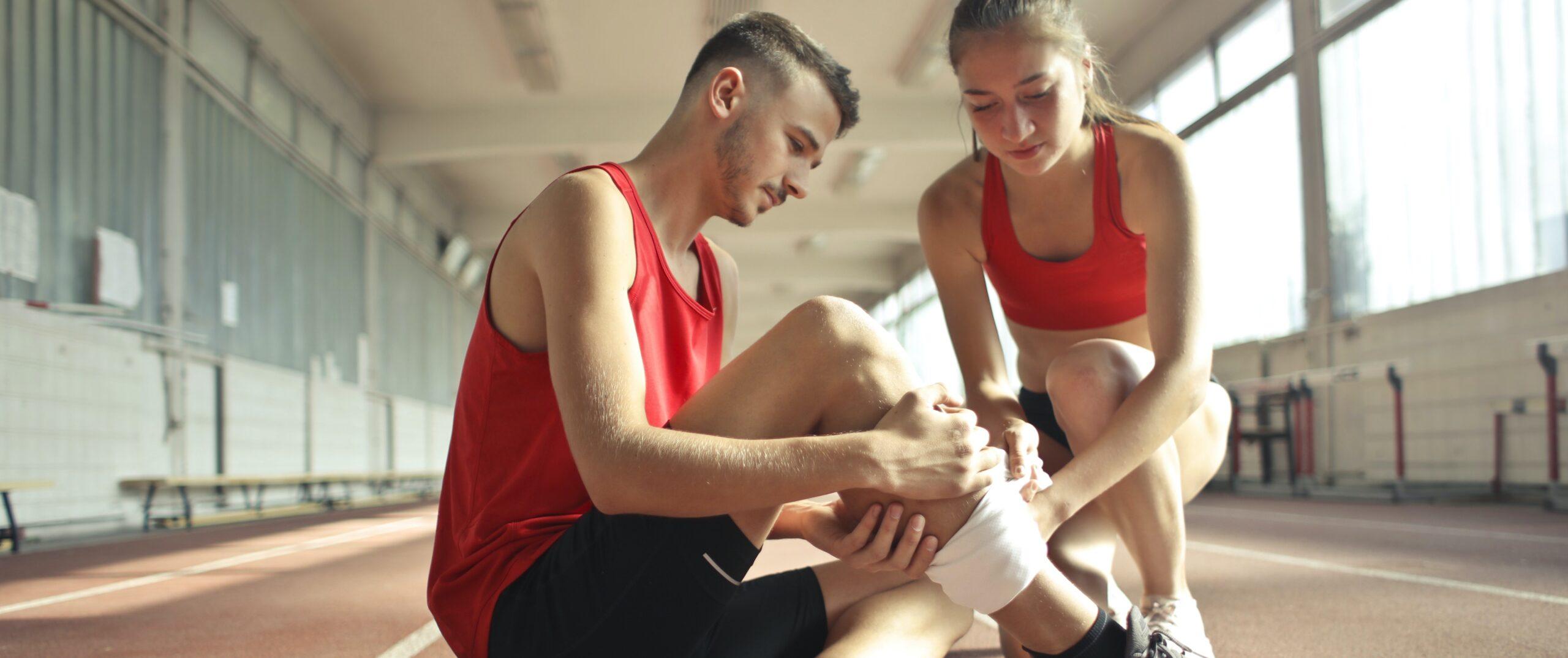Stosswellentherapie bei Sportverletzung